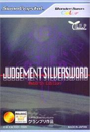 Box cover for Judgement Silversword: Rebirth Edition on the Bandai WonderSwan Color.