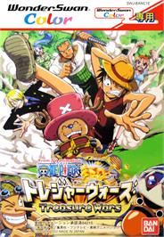 Box cover for One Piece: Treasure Wars on the Bandai WonderSwan Color.