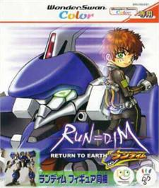 Box cover for RUN=DIM Return to Earth on the Bandai WonderSwan Color.