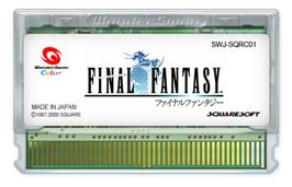 Cartridge artwork for Final Fantasy on the Bandai WonderSwan Color.