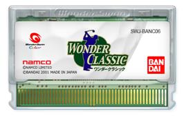 Cartridge artwork for Wonder Classic on the Bandai WonderSwan Color.