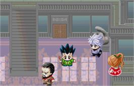 In game image of Hunter X Hunter: Greed Island on the Bandai WonderSwan Color.