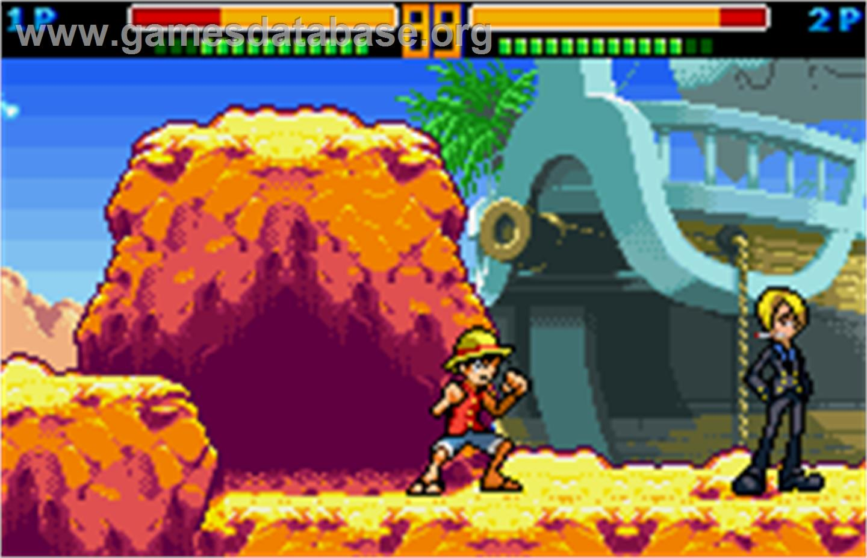 [7 Jogos Indispensáveis] - WonderSwam + Color One_Piece-_Grand_Battle_Swan_Colosseum_-_2002_-_Bandai