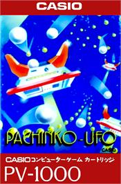 Box cover for Pachinko-UFO on the Casio PV-1000.