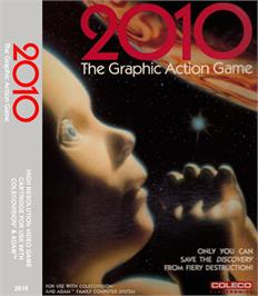 Box cover for 2010: The Graphic Action Game on the Coleco Vision.