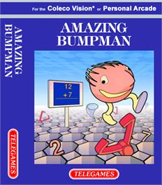 Box cover for Amazing Bumpman on the Coleco Vision.