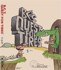 Box cover for BC's Quest for Tires on the Coleco Vision.