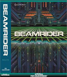 Box cover for Beamrider on the Coleco Vision.