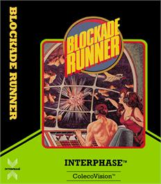 Box cover for Blockade Runner on the Coleco Vision.