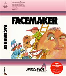 Box cover for FaceMaker on the Coleco Vision.