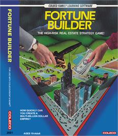 Box cover for Fortune Builder on the Coleco Vision.
