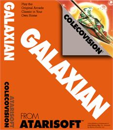 Box cover for Galaxian on the Coleco Vision.