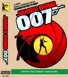 Box cover for James Bond 007 on the Coleco Vision.