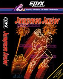 Box cover for Jumpman Junior on the Coleco Vision.