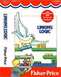 Box cover for Linking Logic on the Coleco Vision.