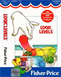 Box cover for Logic Levels on the Coleco Vision.