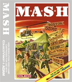 Box cover for M*A*S*H on the Coleco Vision.
