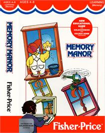 Box cover for Memory Manor on the Coleco Vision.