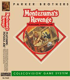 Box cover for Montezuma's Revenge on the Coleco Vision.