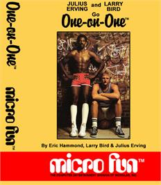 Box cover for One on One on the Coleco Vision.