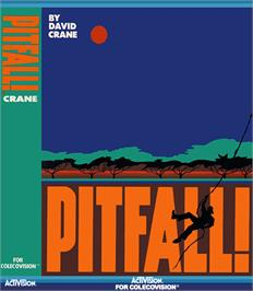 Box cover for Pitfall on the Coleco Vision.