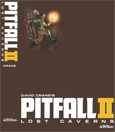 Box cover for Pitfall II on the Coleco Vision.
