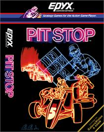 Box cover for Pitstop on the Coleco Vision.