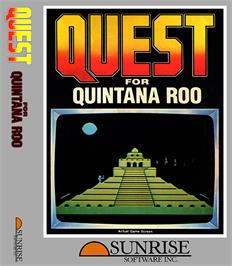 Box cover for Quest for Quintana Roo on the Coleco Vision.