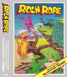 Box cover for Roc'n Rope on the Coleco Vision.