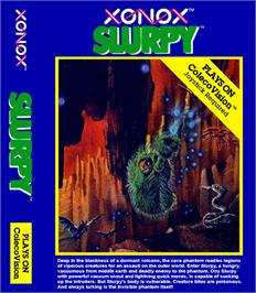 Box cover for Slurpy on the Coleco Vision.