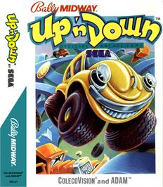 Box cover for Up'n Down on the Coleco Vision.