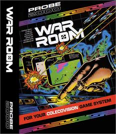 Box cover for War Room on the Coleco Vision.