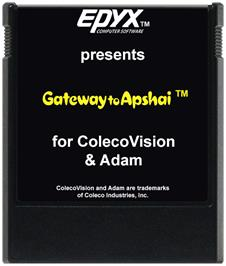 Cartridge artwork for Gateway to Apshai on the Coleco Vision.