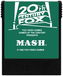 Cartridge artwork for M*A*S*H on the Coleco Vision.