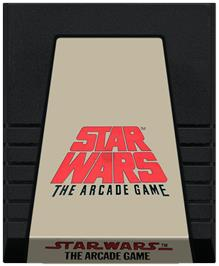 Cartridge artwork for Star Wars Arcade on the Coleco Vision.