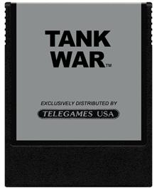 Cartridge artwork for Tank Wars on the Coleco Vision.