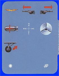 Overlay for Dambusters on the Coleco Vision.