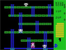 In game image of Cosmic Crisis on the Coleco Vision.