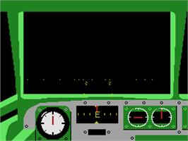 In game image of Dambusters on the Coleco Vision.