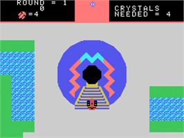 In game image of Destructor on the Coleco Vision.