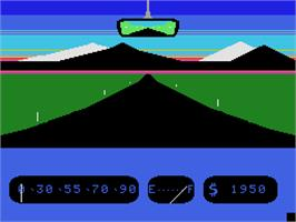 In game image of Fall Guy on the Coleco Vision.
