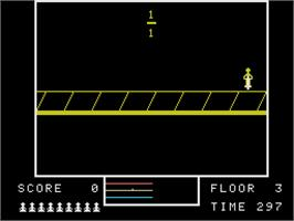 In game image of Fraction Fever on the Coleco Vision.
