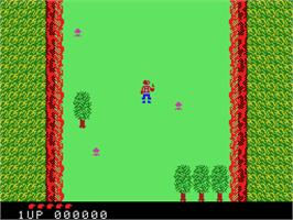 In game image of Front Line on the Coleco Vision.
