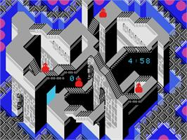 In game image of Illusions on the Coleco Vision.