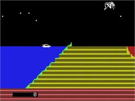 In game image of James Bond 007 on the Coleco Vision.