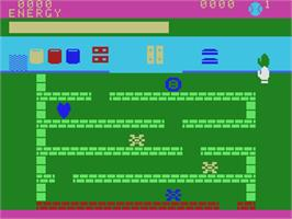 In game image of Logic Levels on the Coleco Vision.