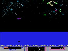 In game image of Nova Blast on the Coleco Vision.