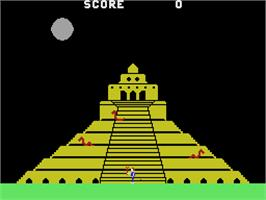 In game image of Quest for Quintana Roo on the Coleco Vision.