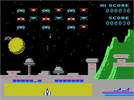 In game image of Spectron on the Coleco Vision.