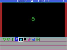 In game image of Telly Turtle on the Coleco Vision.